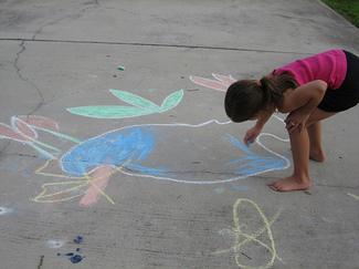 Lily_chalk